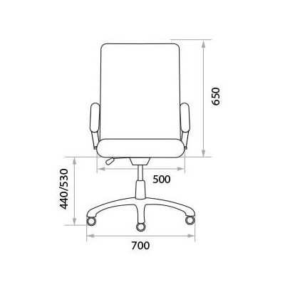 Кресло руководителя Manager Extra PU01 дерево 1.031