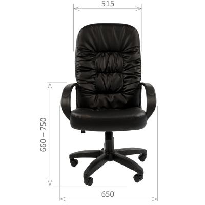 Кресло руководителя Chairman CH 416 экокожа