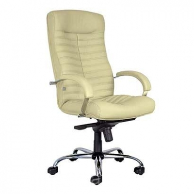 Кресло руководителя Orion Steel Chrome натуральная кожа