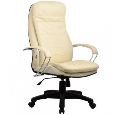 Кресло руководителя Metta LK-3 PL кожа перфорированная