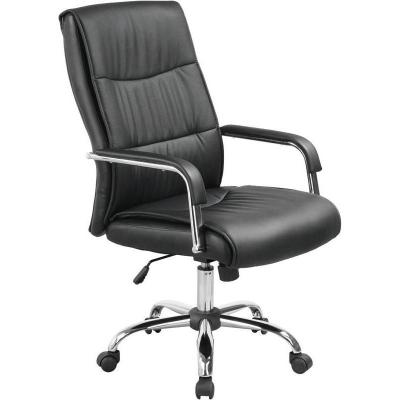 Кресло руководителя Echair-509 экокожа черная
