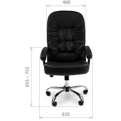 Кресло руководителя Chairman CH 418 экокожа