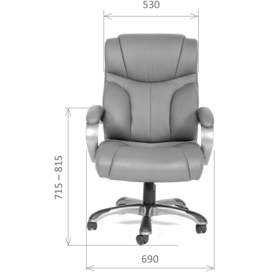 Кресло руководителя CH 435 кожа COW