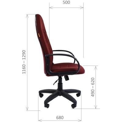 Кресло руководителя Chairman CH 727 ткань