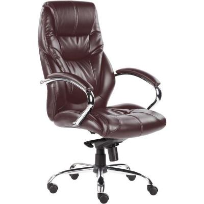 Кресло руководителя EChair 535 искусственная кожа черная