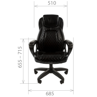 Кресло руководителя Chairman CH 432 экокожа