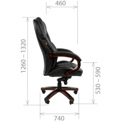 Кресло руководителя Chairman CH 406 экопремиум