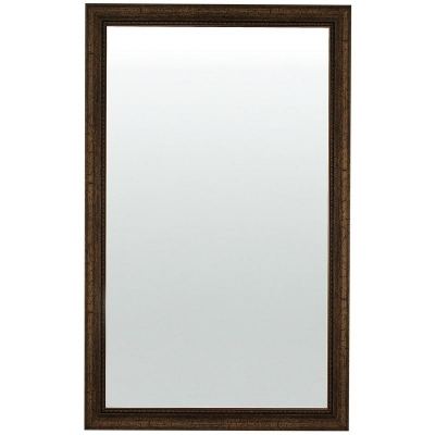 Зеркало настенное бронза/черный багет (533x853 мм)