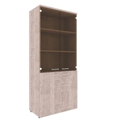 Шкаф со стеклянными дверьми XHC 85.2