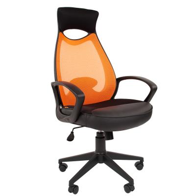 Кресло руководителя Chairman CH 840 black ткань/ сетчатый акрил