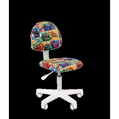 Кресло детское KIDS 104 белый пластик