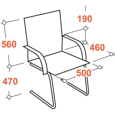 Конференц-кресло Easy Chair 811