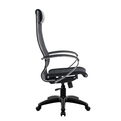 Кресло руководителя Metta SU-1-BK PL комплект 3 (хром. молдинг)