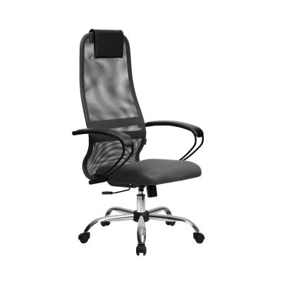 Кресло руководителя Metta BP-8 Ch ткань-сетка