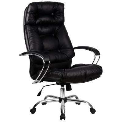 Кресло руководителя Metta LK-14 Ch кожа перфорированная