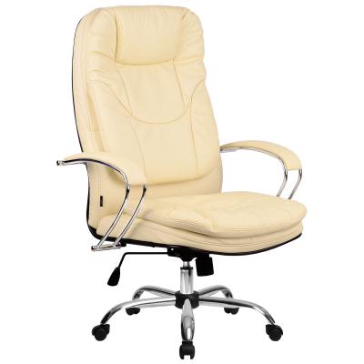 Кресло руководителя Metta LK-11 Ch кожа перфорированная