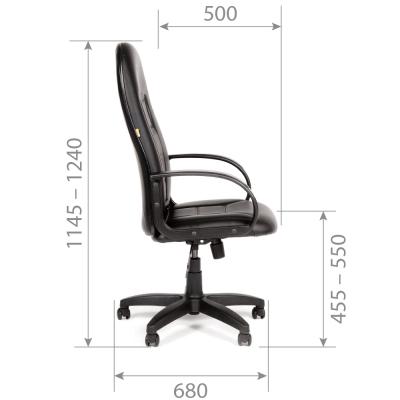 Кресло руководителя Chairman CH 727 экокожа
