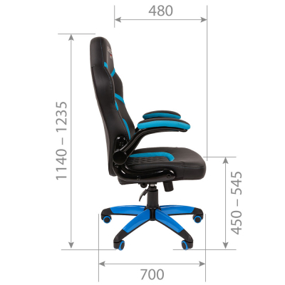 Геймерское кресло CHAIRMAN GAME 18