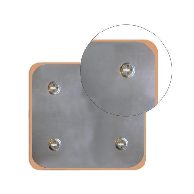 Доска стеклянная 45x45см магнитно-маркерная Attache