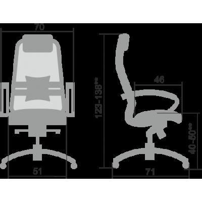 Кресло руководителя SAMURAI SL-1.04