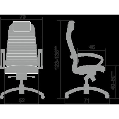Кресло руководителя Samurai K-1.04