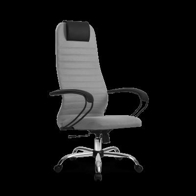 Кресло руководителя Metta SU-BP-10 Ch ткань-сетка