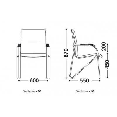 Кресло Самба Silver