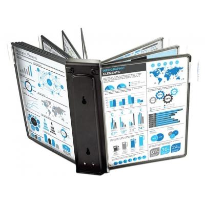 Блок расширения для демо-системы MEGA Office (10 панелей, черный)