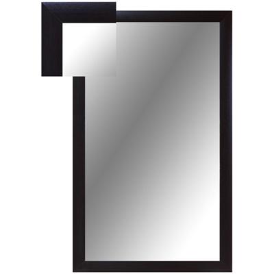 Зеркало настенное ВЕ-1 венге прямоугольное