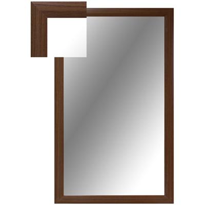 Зеркало настенное ОР-1 орех прямоугольное
