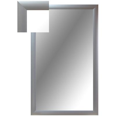 Зеркало настенное СЕ-1 серебро прямоугольное