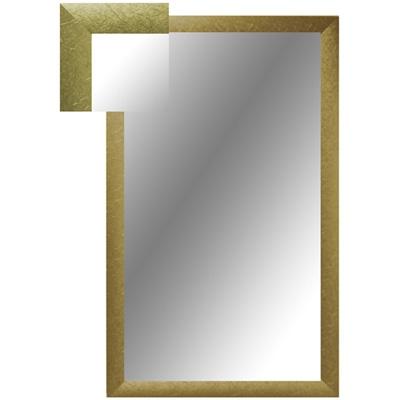 Зеркало настенное ЗШ-1 золото шелк прямоугольное
