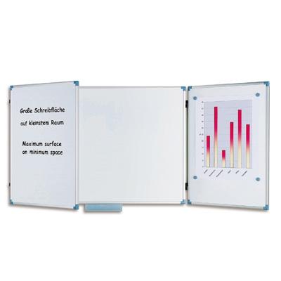 Доска магнитно-маркерная 100х300 см, 2-створчатая HEBEL 6337084