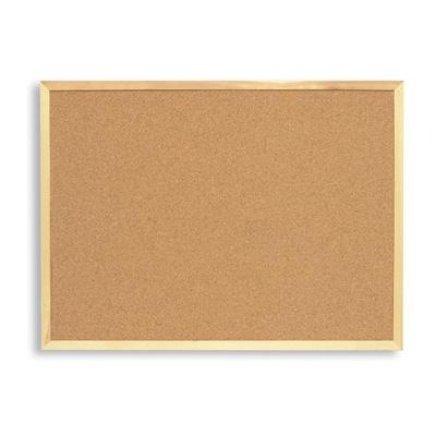 Доска пробковая Attache 100х150см, деревянная рама