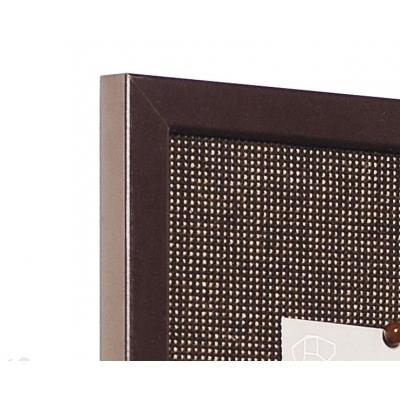 Доска текстильная BI-OFFICE 80х80см, деревянная рама
