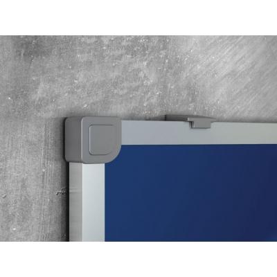Доска текстильная Attache 90х120см, алюминиевая рама