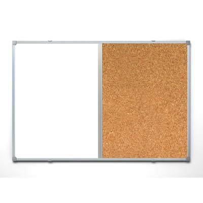 Доска комбинированная Attache 90х120см, алюминиевая рама