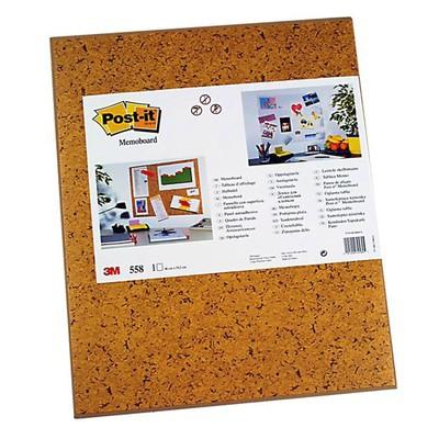 Клейкая доска Post-it 58.5х46см пробка
