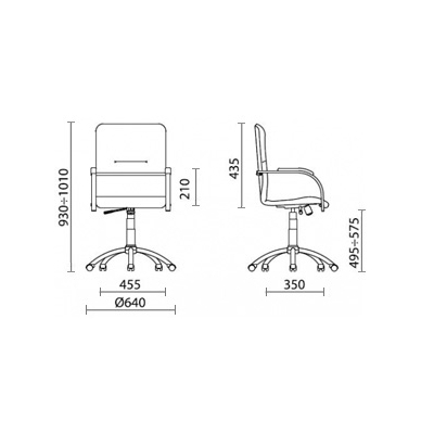 Офисное кресло SAMBA GTP искусст. кожа