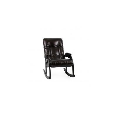 Кресло-качалка, модель 67 экокожа