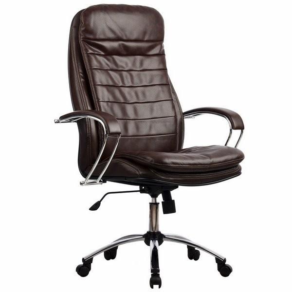 Кресло из перфорированной кожи